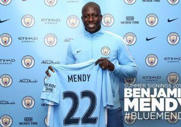 Манчестер Сити подписал Менди